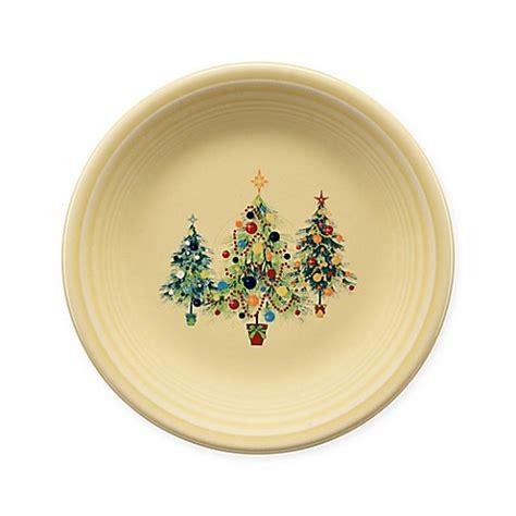 fiesta 174 christmas tree trio salad plate bed bath beyond