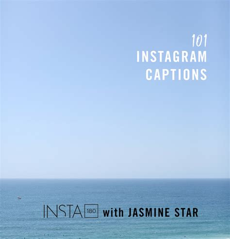 jasmine star 101 instagram caption templates just for you