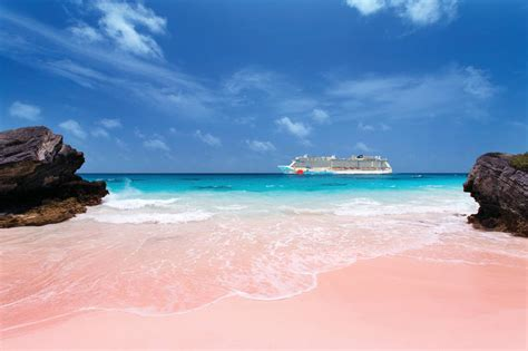 beaches with pink sand bermuda s best bet pink sand beaches ncl travel