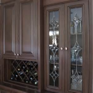 Custom Made Glass Cabinets Handmade Leaded Glass Inserts For Cabinets By Glassworks