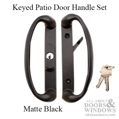 Keyed Patio Door Handle 3 15 16 Quot Spacing C Handles