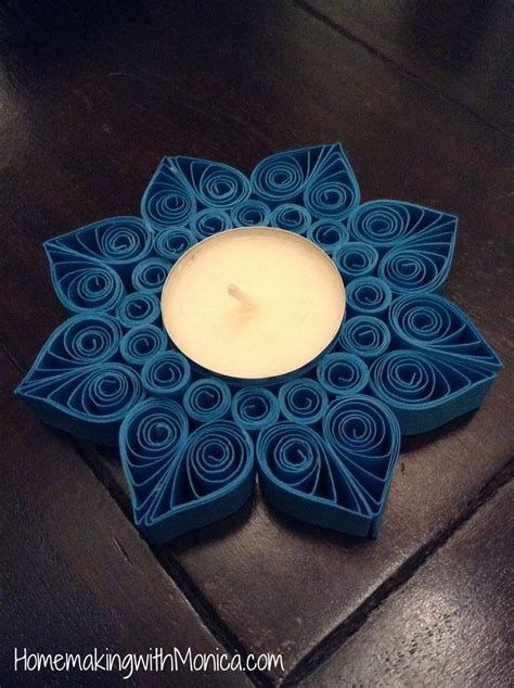 quilling tutorial on pinterest quilled tealight holder tutorial quilling pinterest