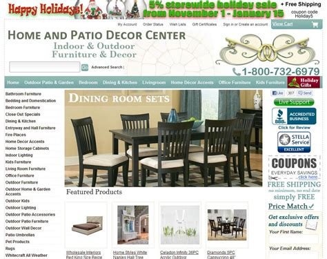 home and patio decor center 1 5 by 3 consumers