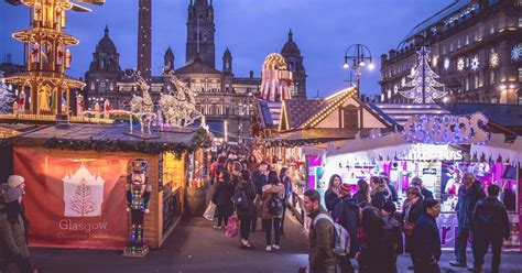 glasgow s christmas markets here s the opening times