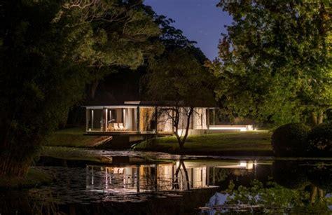 schöne pavillons modernes ferienhaus am see 246 ffnet sich zur idyllischen