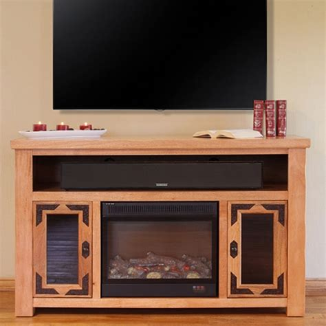 rustic crafts electric fireplaces
