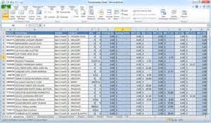 Spreadsheet For Excel Microsoft Excel Is Not Inventory Software Crunchtime
