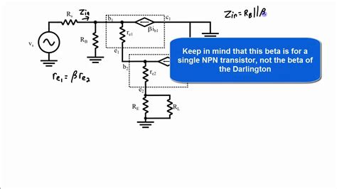 darlington transistor input impedance darlington transistor input impedance 28 images emitter follower applications electronics