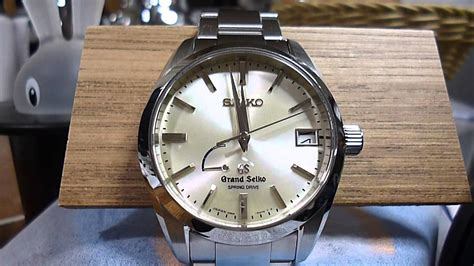 Grand Seiko Sbga083 grand seiko sbga083 springdrive changing date 日付切り替わり