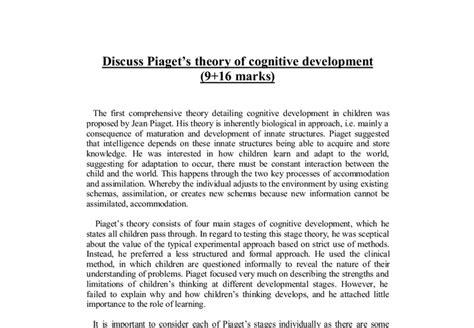 Cognitive Psychology Essay by College Essays College Application Essays Cognitive Development Essay