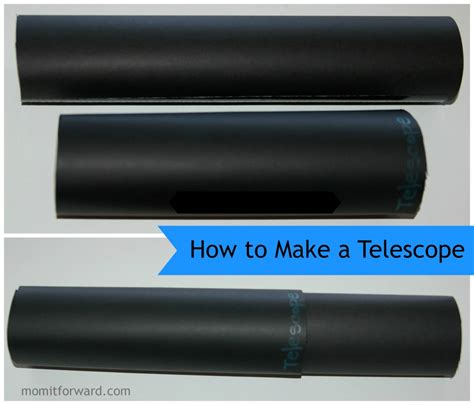How To Make A Telescope Out Of Paper - craft how to make a telescope it forward