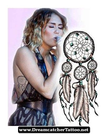 miley cyrus tattoo design miley cyrus dreamcatcher design 12 http