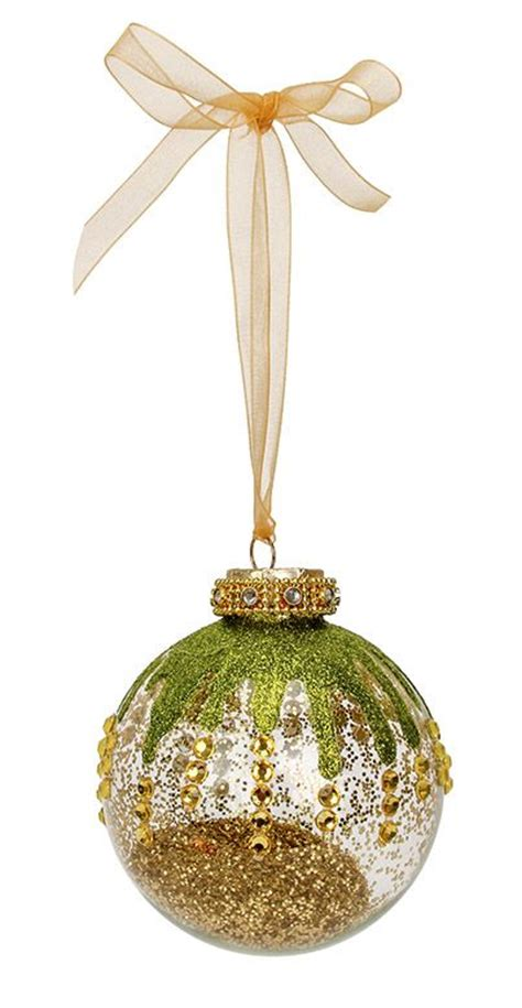25 best ideas about gold christmas ornaments on pinterest