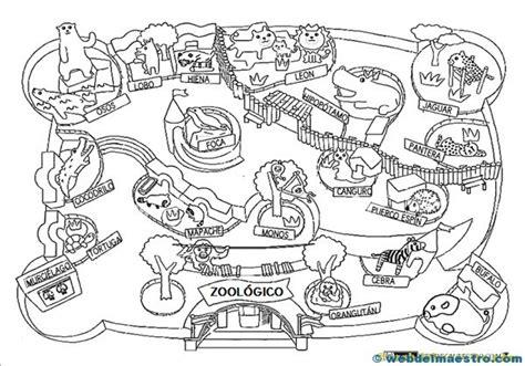imagenes de animales del zoologico para preescolar animales para colorear web del maestro
