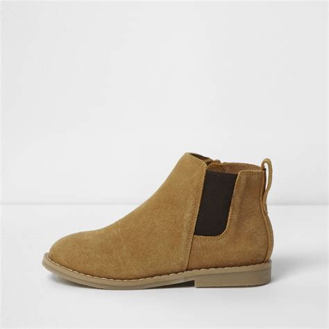 boys brown chelsea boots boots footwear boys