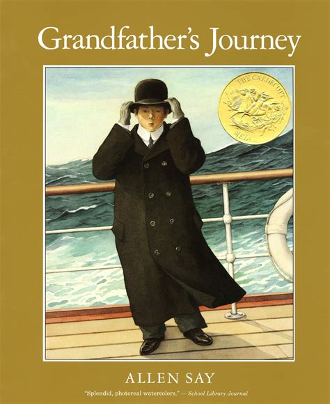 grandfather s grandfather s journey by allen say lightlit