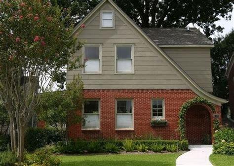exterior color to complement orange brick houzz