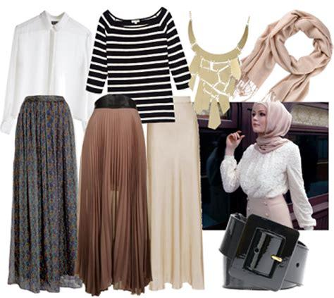 Rok Rempel Hitam By Betjeans model baju atasan wanita untuk rok panjang