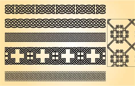 Vorlagen Grafische Muster Vintage Muster Vorlagen In Schwarz Und Wei 223 Der Kostenlosen Vektor