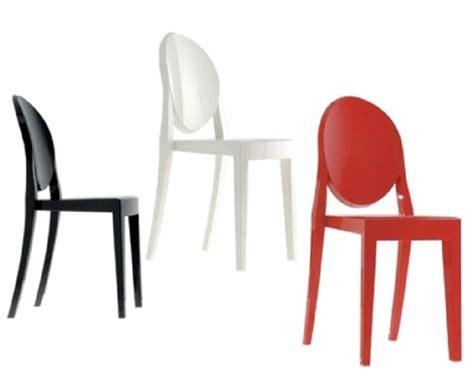 sedie simili kartell ghost kartell sedute sedie livingcorriere