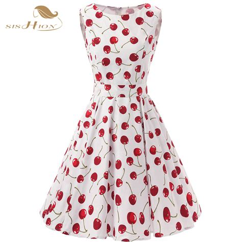vintage swing dress pattern aliexpress com buy 50s 60s style retro vintage dress