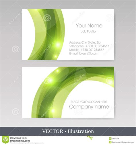 business card template vector business card templates vector illustration royalty free