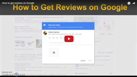 google design review how to get reviews on google my business scoop design