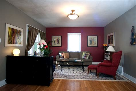 red walls in living room maroon paint for bedroom cost 00 00 elbow grease i