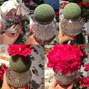 Bling Wedding Vases Diy Bling Centerpiece Mawaige Pinterest Bling