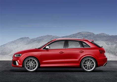 audi crossover 2014 2014 audi rs q3 crossover revealed ahead of geneva motor show