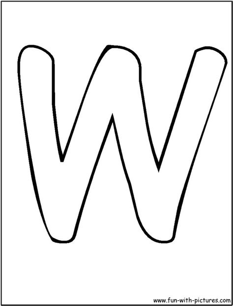 Letter W Coloring Pages Printable by Letter W Coloring Pages Preschool Letter W Coloring
