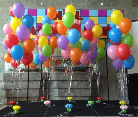 como decorar con globos con gas helio decorar con globos sin helio free cmo hacer para baby