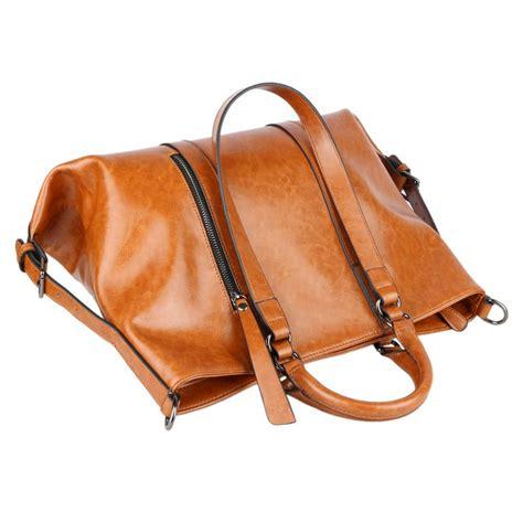 Import Bag Leather Kokoh 28x19115000 new leather handbag shoulder bag tote vintage satchel bag brown ebay