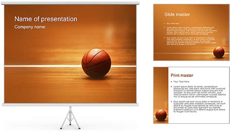 basketball nba powerpoint template backgrounds id