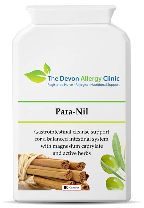 Gi Detox Ingredients by Gastrointestinal Cleanse Para Nil Supplements