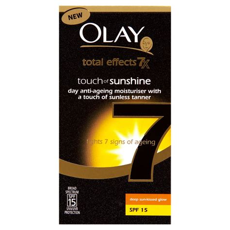 Pembersih Olay Total Effect olay total effects sun kissed glow 50ml beautyexpert