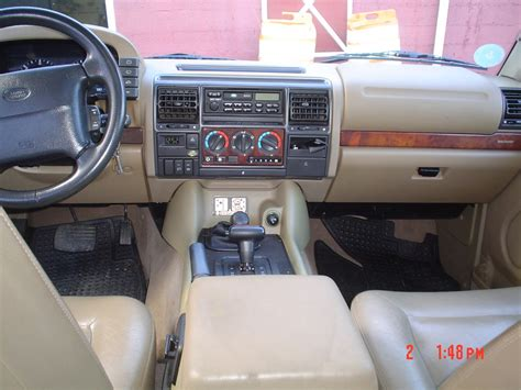 land rover 1999 interior bentonrover 1998 land rover discovery specs photos