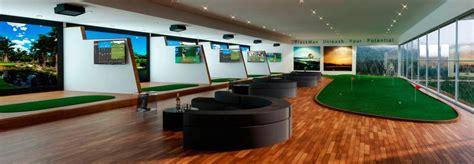 golf swing simulator best 25 golf simulators ideas on golf room
