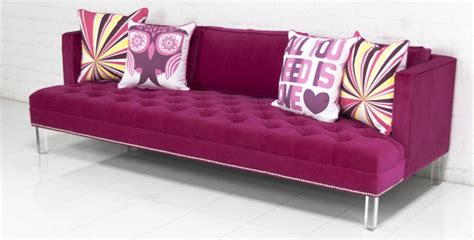 hot pink couches hot pink sofas pink sofa on couch pinterest velvet