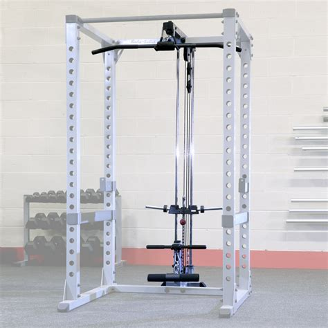 Solid Pro Power Rack by Gla378 Lat Attachment For Pro Power Rack Solid