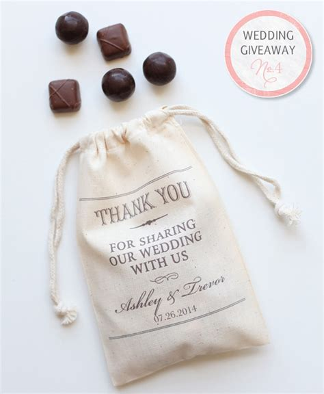 Wedding Contest Giveaways - wedding giveaway win favor bags and 350 from truffle truffle