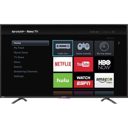 Sharp 32 Inch Smart Tv Led sharp 32 quot class hd 720p roku smart led tv lc 32n4000u