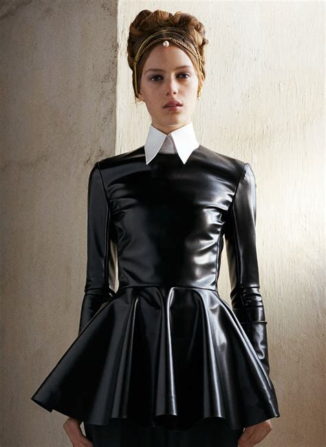 leather maids dress the elegant tease photo collars and fashion 5