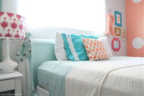 coral and turquoise bedroom coral tween girl bedroom