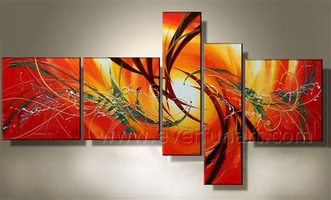 Handmade Paintings For Sale - wall designs abstract wall china stretched
