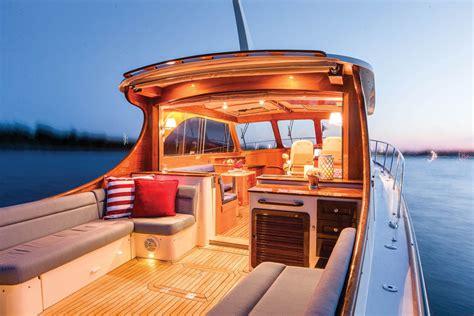 hinckley picnic boat interior hinckley talaria 43 sea magazine