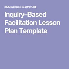 inquiry based lesson plan template resources bscs science ing
