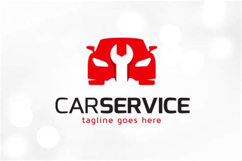 Car Service Logo Template Logo Templates On Creative Market