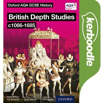 libro oxford aqa gcse history oxford aqa history for gcse british depth studies c1066 1685 kerboodle book oxford university