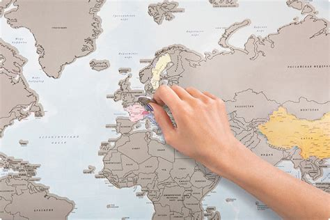 scratch world map just like a lotto scratcher world map allows travelers to scratch all the countries they